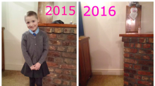 This Poignant Back To School Picture Is Breaking The Internet's Heart