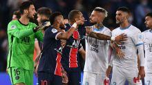 PSG-Marsiglia finisce in rissa, cinque espulsi nel recupero: furia Neymar contro Gonzalez