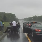 Trooper Praised for Rescuing Man from Burning Car in New Jersey