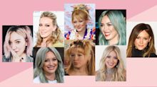 Hilary Duff Critiques Her Hair History