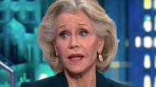 Jane Fonda: The Sooner Trump Is Gone, The Better For The Environment