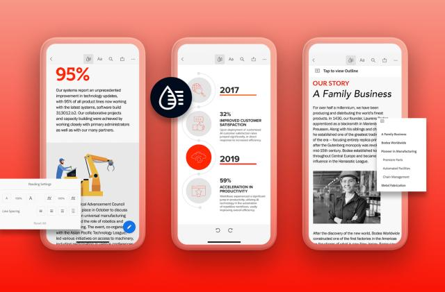 Adobe's Liquid Mode uses AI to make PDFs easier to read on phones