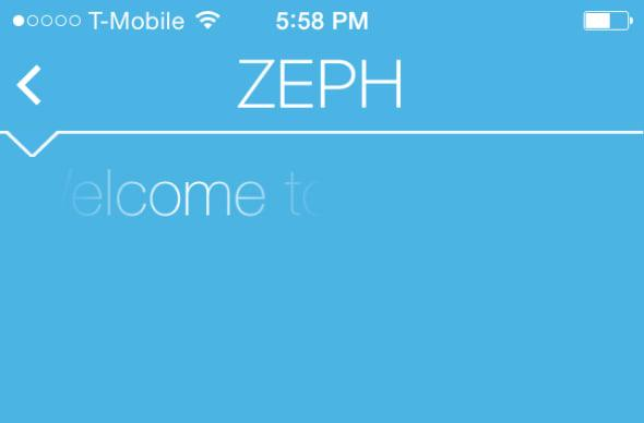 Send a message that's impossible to screenshot with Zeph