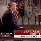 Stephen Interviews Chris Wallace's Interview Of Donald Trump