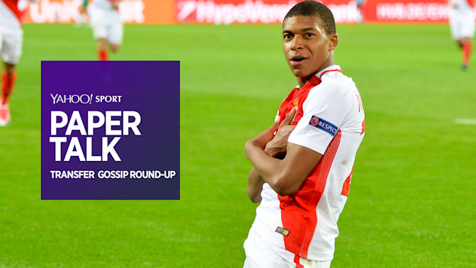 Paper Talk: Mbappe to replace Neymar at Barcelona plus Costa, Ross Barkley and more