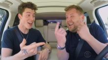 Shawn Mendes shows off hockey skills during 'Carpool Karaoke'