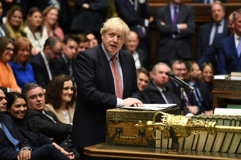 MPs vote to back Boris Johnson's Brexit deal