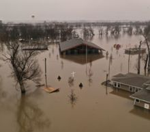 Pence arrives in Nebraska as U.S. Midwest reels from historic floods