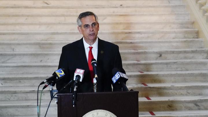 Ga. secretary of state announces new voting probe
