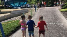 Kids help 6-year-old with cerebral palsy walk in heartwarming viral video