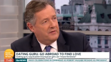 "Piers Morgan brands guest a ""d**k"" live on Good Morning Britain"