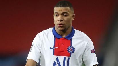 Paris St Germain forward Kylian Mbappe a doubt for Manchester City clash