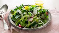 Shaved Vegetable Salad