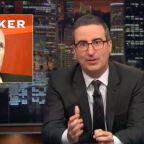 John Oliver Exposes Acting AG Matt Whitaker's 'Completely Disqualifying' Past