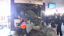 Train crash leaves 36 injured in Buenos Aires
