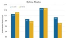 MPC, VLO, HFC, and PSX's Refining Margins Fell in Q1