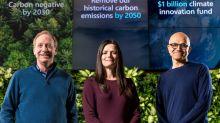 Microsoft suprimirá todas sus emisiones contaminantes para 2030