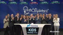 OrthoPediatrics celebrates initial public offering
