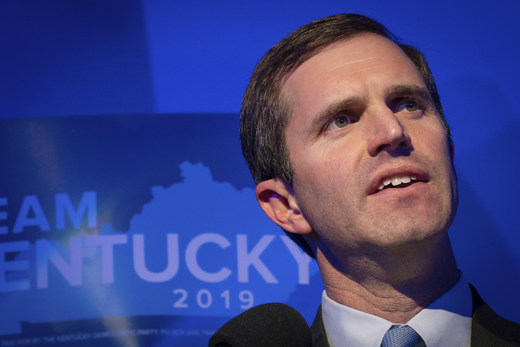 "Andy Beshear says it's time to move ""forward"" after Kentucky governor's race"