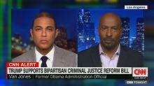 CNN's Van Jones praises Donald Trump over prison reform: 'You gotta give him some credit'
