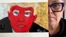 Move over, Jim Carrey: Rosie O'Donnell has sold 91 anti-Trump paintings