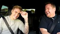Justin Bieber & James Corden Sing Carpool Karaoke!