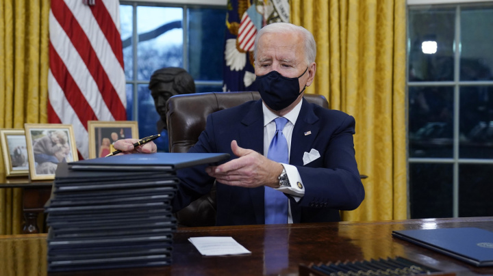 Under Biden, GOP changes its tune on executive orders
