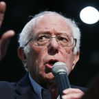 As Sanders pulls ahead in Iowa, rivals scramble for 2nd place