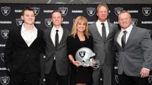 Jon Gruden's wife, son will be among fans at Raiders-Chiefs game in KC