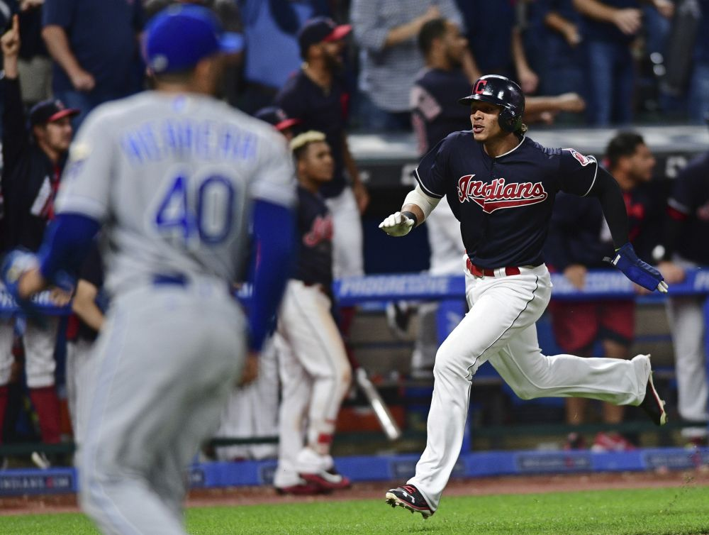 The Indians wouldn't be denied win No. 22 in a row. (AP)
