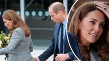 Kate Middleton's wardrobe wobble during official appearance