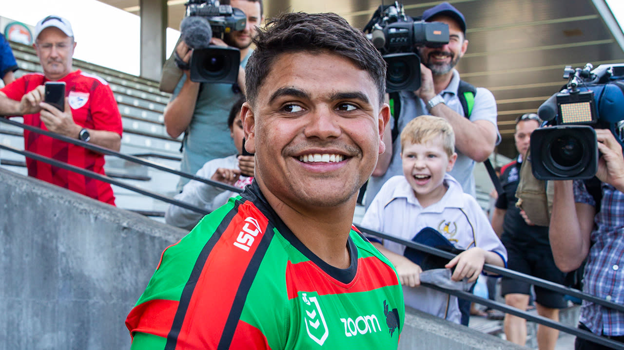 'I am excited': NRL great keen to see Latrell Mitchell's fullback switch
