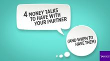 4 times you need to talk about money with your partner