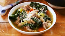 Sausage White Bean & Kale Soup Is Our Newest Healthy Obsession