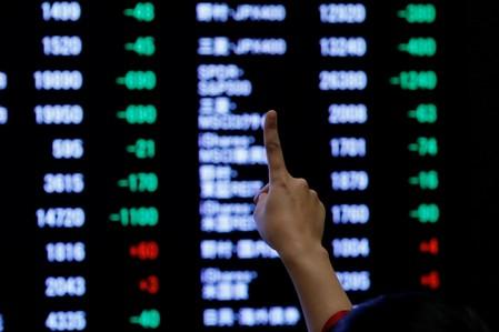 Asia shares at six-week high on trade progress, ECB easing