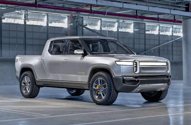 Amazon and GM may invest in Rivian's electric pickup trucks