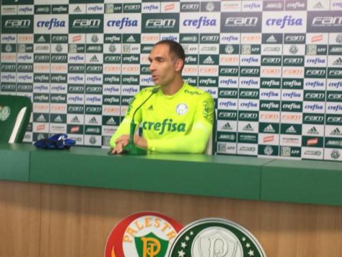 Depois de fechar o gol na Vila, Prass mantém sonho de jogar pela Seleção