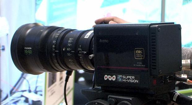 NHK flaunts 8K Ultra HD compact broadcast camera