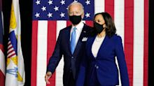 Joe Biden And Kamala Harris Make First Remarks As Historic Democratic Ticket