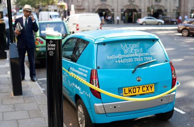 French billionaire to bring 3,000 all-electric hire cars to London