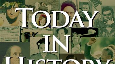 Today in History for April 25th