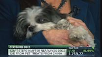 Nearly 600 pets die from treats out of China