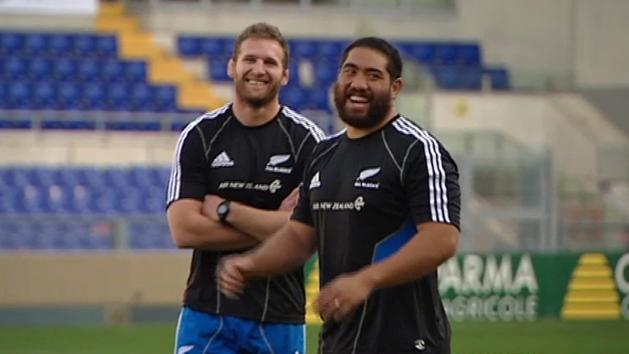 All Blacks Prepare Before Facing Italy