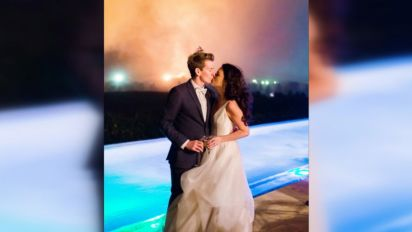 Wildfires in wedding country bring out hope, perseverance