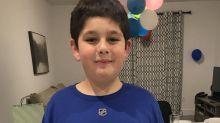 Maple Leafs, hockey Twitter help lonely fan celebrate 11th birthday