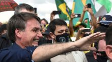 Bolsonaro rallies with supporters amid virus surge
