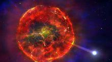 Hallazgo espacial: una estrella sobrevivió a su explosión y viaja a 900.000 km/h por la Vía Láctea