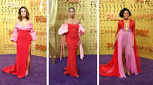 Pink and red was the hottest colour combination at the Emmys — here's how to rock it for fall