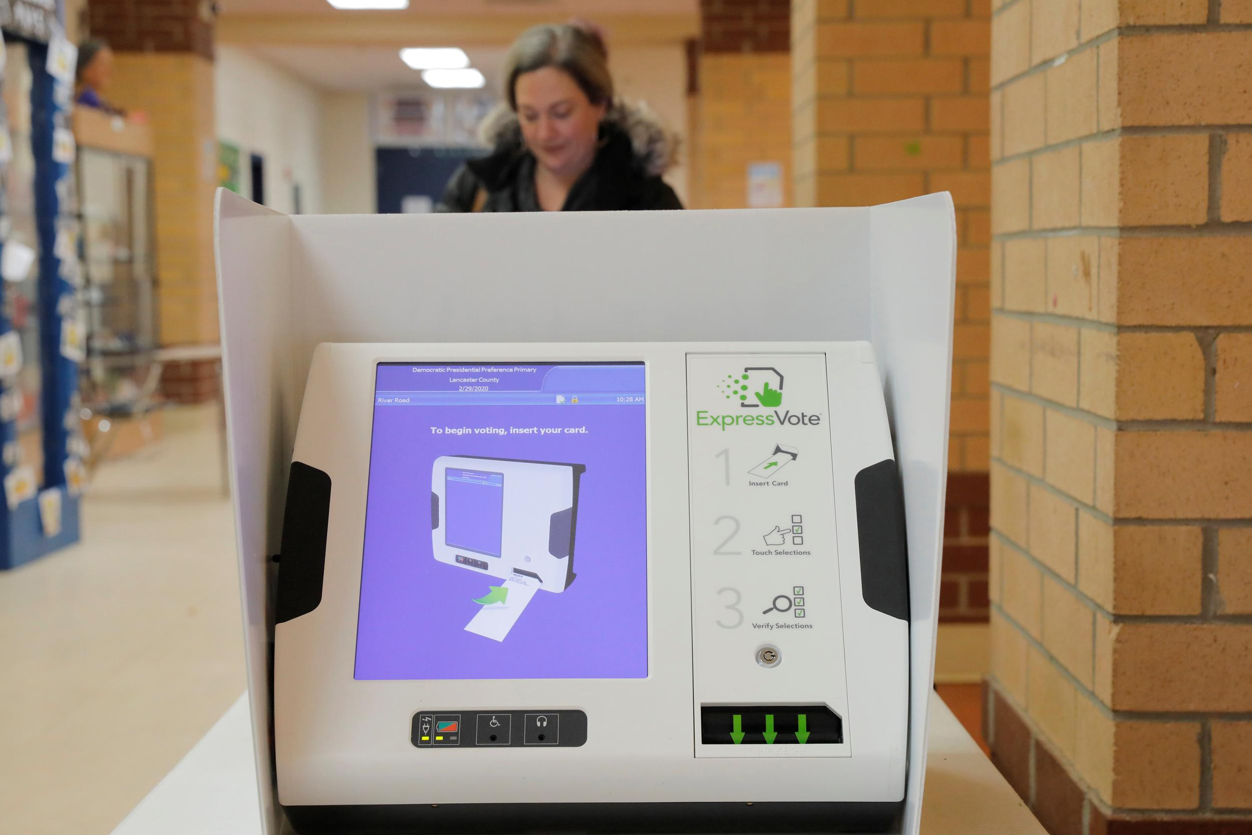 South Carolina is big test for new style of voting system sweeping the nation