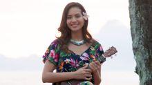 """Meurtres à Tahiti (France 3) Vaimalama Chaves : """"J'ai adoré interpréter ce rôle de chanteuse"""""""